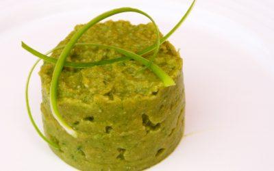 Brei aus Spinat und Kohlrübe