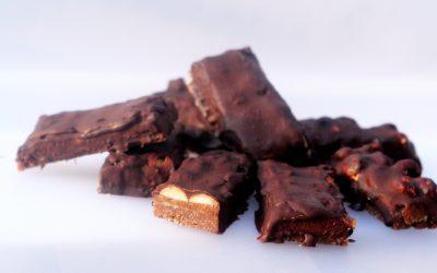 Domácí čokoládové tyčinky